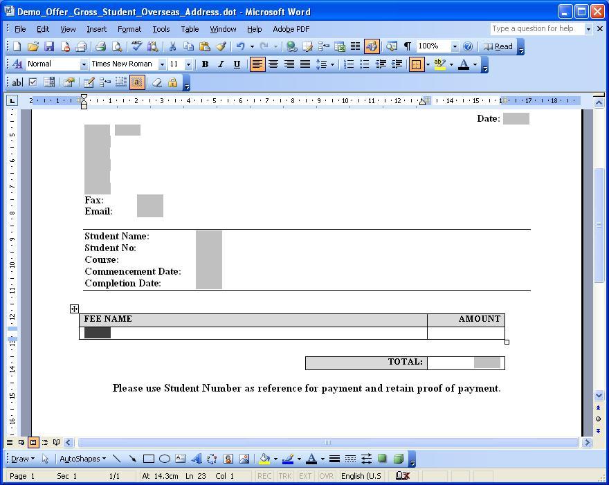 Templates Ebecas Documentation